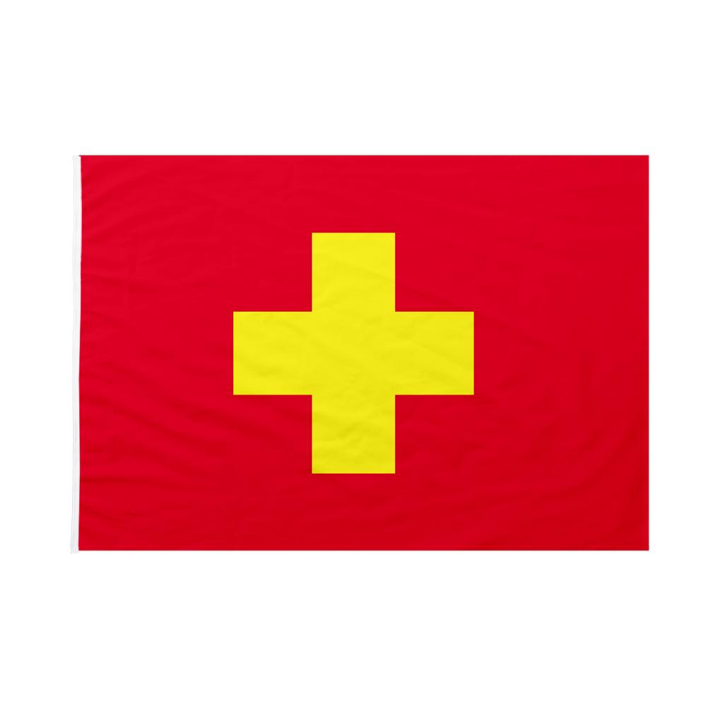 Bandiera Comune di Ancona 20x30 cm da bastone