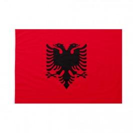 La Bandiera Albanese con la sua caratteristica aquila a due teste