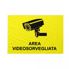 Bandiera Area videosorvegliata