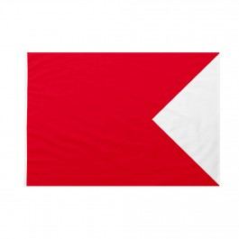 Bandiera Codice Internazionale Nautico BRAVO