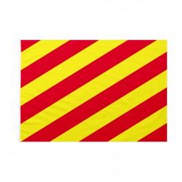 Bandiera Codice Internazionale Nautico YANKEE