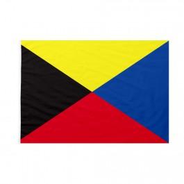 Bandiera Codice Internazionale Nautico ZULU