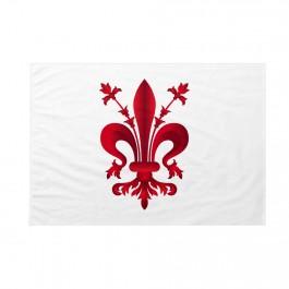 Bandiera Comune di Firenze  bandiera col giglio