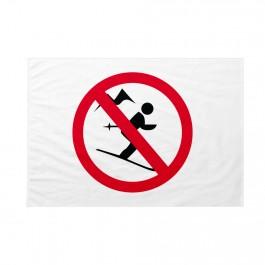 Bandiera Divieto di sci