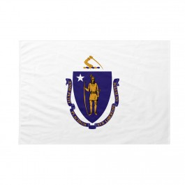 Bandiera Massachusetts