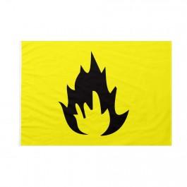 Bandiera Pericolo Infiammabile