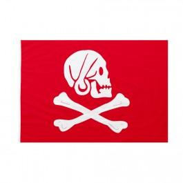Bandiera Pirati Henry Avery rossa