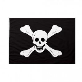 Bandiera Pirati Richard Worley nera