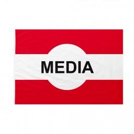 Bandiera Pista sci Media