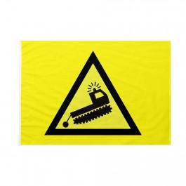 Bandiera Pista sci pericolo battipista