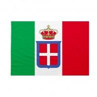 Bandiera da pennone Casa Savoia Bandiera Reale Italiana 50x75cm