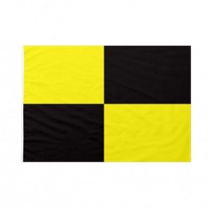 Bandiera Codice Internazionale Nautico LIMA