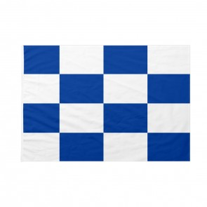 Bandiera Codice Internazionale Nautico NOVEMBER