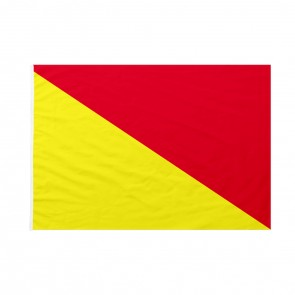 Bandiera Codice Internazionale Nautico OSCAR