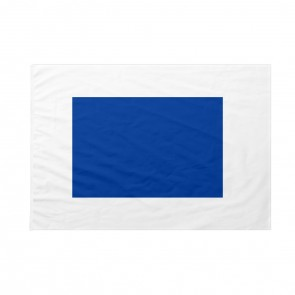 Bandiera Codice Internazionale Nautico SIERRA
