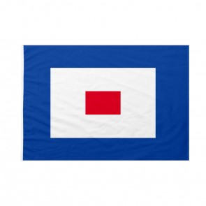 Bandiera Codice Internazionale Nautico WHISKEY