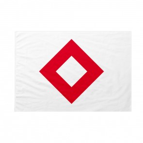 Bandiera Cristallo Rosso