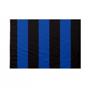 Bandiera Nera Azzurra a righe