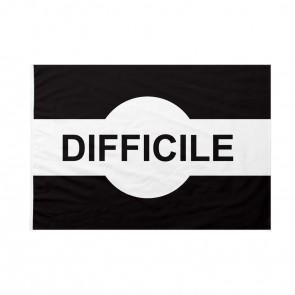Bandiera Pista sci Difficile