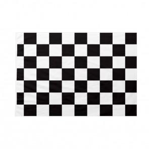 Bandiera Scacchi bianca e nera