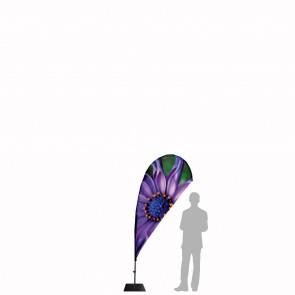 Bandiera Personalizzata per Goccia Mini 2.5 in poliestere nautico