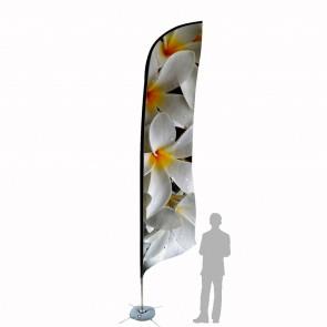 Bandiera Personalizzata per Bandiera Piuma 4.7 in poliestere nautico