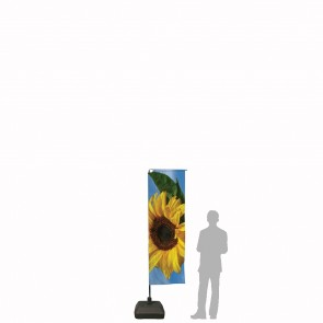 Bandiera Personalizzata per Goccia Mini XL 2.2 in poliestere nautico