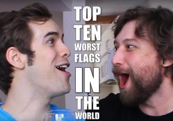Le dieci peggiori bandiere del mondo raccontate da Jack ed Erik